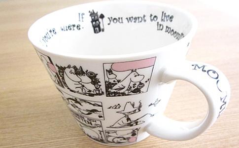 ムーミンマグカップ