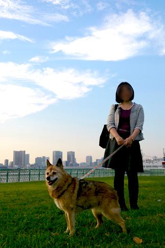 潮風公園でお散歩