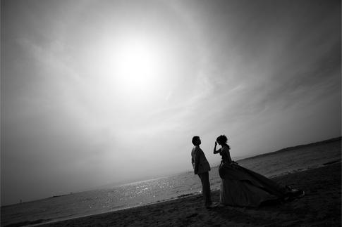 フォトウェディング@森戸海岸
