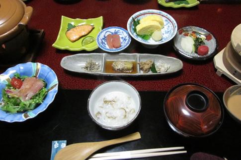 田乃倉朝食