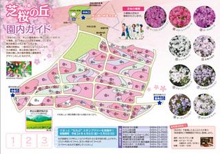 芝桜の丘 園内ガイド